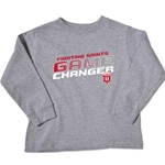 "Dubuque Fighting Saints Toddler ""Squares"" Long Sleeve"