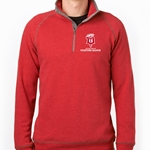 "Dubuque Fighting Saints 1/2 Zip ""Mock"""