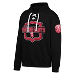 "Dubuque Fighting Saints Adult Hooded Sweatshirt ""Sierra"""