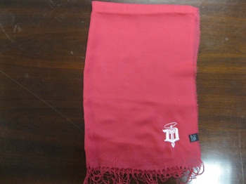 "Dubuque fighting Saints ""Silk Scarf"""