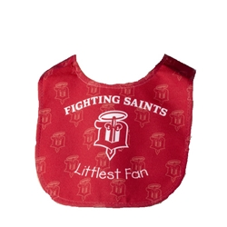 Dubuque Fighting Saints Baby Bib