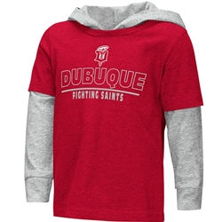 "Dubuque Fighting Saints Infant/Toddler Hood ""Cloth"""